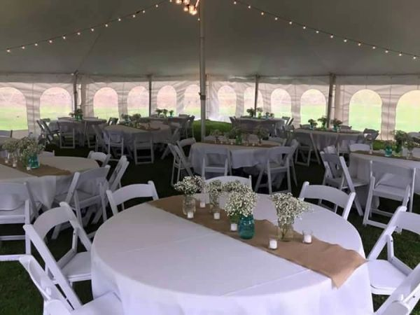 wedding tent rental ohio